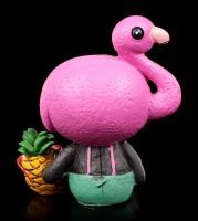 Furry Bones Figurine - Flamingo Star