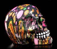 Small Colourful Skull - VIVA!