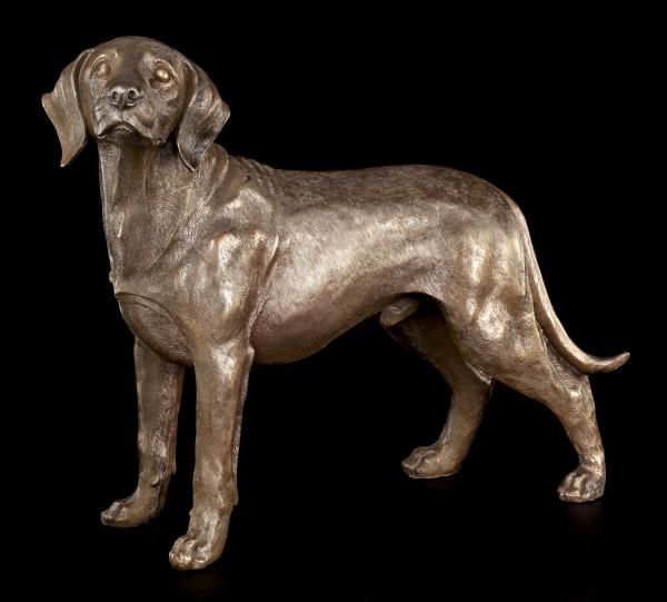 Große Hunde Figur - Junger Labrador stehend