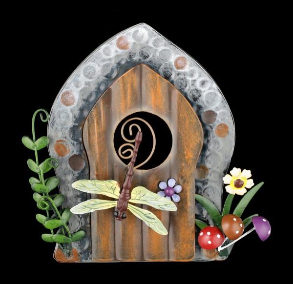 Elfen Tür zum Hängen - Dragonfly's Den