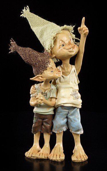 Pixie Kobold Figur - Schau mal da