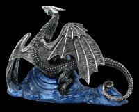 Dragon Figurine - Samoon Silver