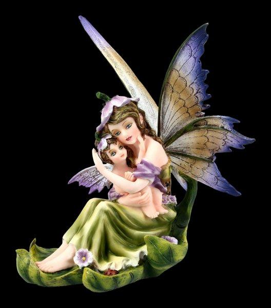 Fairy Figur - Liriel on Leaf with Baby