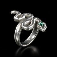 Alchemy Schlangen Ring - Psalm 68
