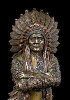 Indianer Figur - Häuptling