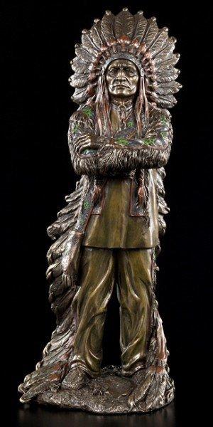 Indian Figurine - Proud Chief