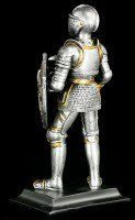 Knight Figurine with Axe & Shield