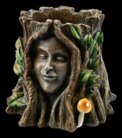 Tree Spirit Pot - Oak Goddess