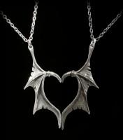 Alchemy Gothic Halskette - Darkling Heart