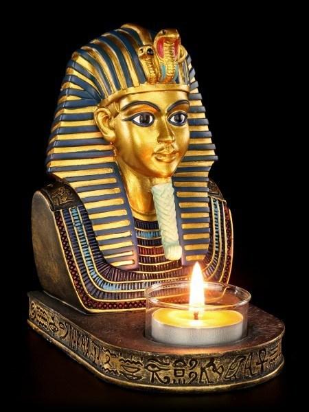 Ägyptischer Teelichthalter - Tutanchamun