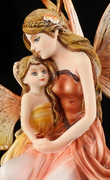 Fairy Figurine - Mother with Child