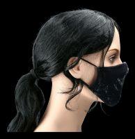 Gesichtsmaske Totenkopf - Fallen Lace