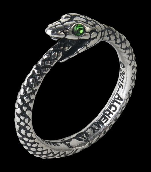 The Sophia Serpent - Alchemy Snake Ring