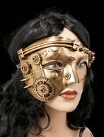 Steampunk Mask - Mechanic Face