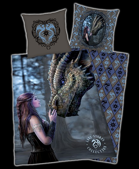 Drachen Bettwäsche Anne Stokes - Once Upon A Time