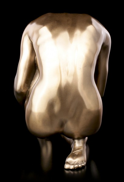 Female Nude Figurine Looking to the Ground