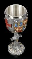 Medieval Goblet - Crest - colored