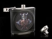 Flachmann mit Wikinger 3D - The Viking