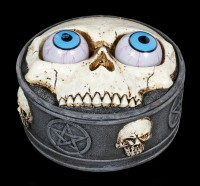 Box with Skull and Rolling Eye Balls