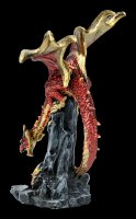 Dragon Figurine - Hear me Roar - red