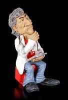 Funny Job Figur - Arzt mit Klemmbrett