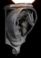 Wandlampe - Lauernder Drache