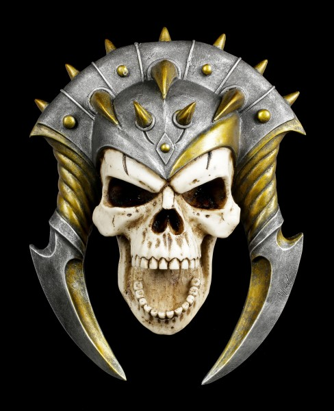 Skull Wall Ornament - Demons Bane