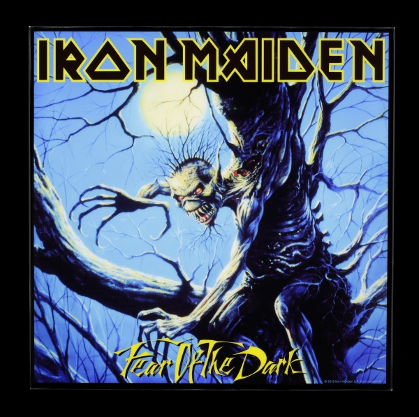 Iron Maiden Hochglanz Bild - Fear of the Dark
