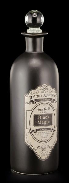 Deko Flasche Mittel - Schwarze Magie