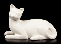 Porcelain Cat - Lying