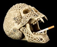 Skull - Celtic Devil