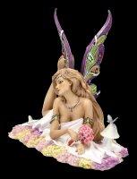 Jewelled Fairy Figurine - Petalite - limited