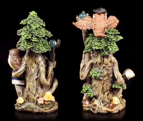 Waldgeist Figuren - Zeit und Gedult - 2er Set