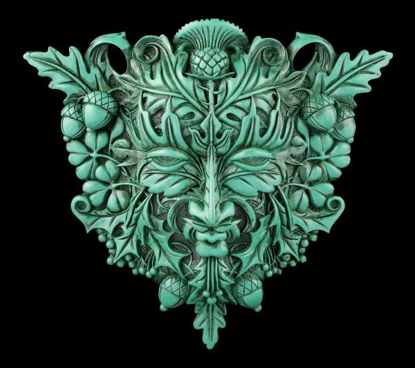 Waldgeist Wandrelief keltisch - Greenman