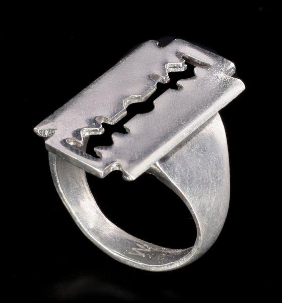 Alchemy Gothic Ring - Razor Ring