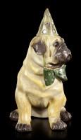 Curious Dog Figurine - Pug