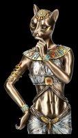Bastet Figurine - Egyptian Goddess with Panther