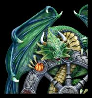 Wandrelief Drache - Year of the Magical Dragon