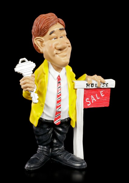 Funny Job Figurine - Estate Agent