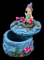 Schatulle - Kleine Meerjungfrau mit lila Haaren