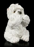 Three wise Dog Figurines - Westies No Evil