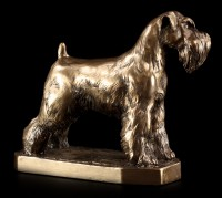 Hunde Figur - Schnauzer