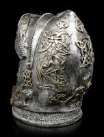 Totenkopf - Ritter im offenem Helm