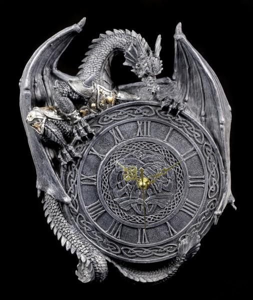 Drachen Wanduhr - Zeitwächter