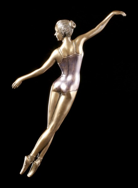 Wandrelief - Ballerina im Sprung - Cabriole