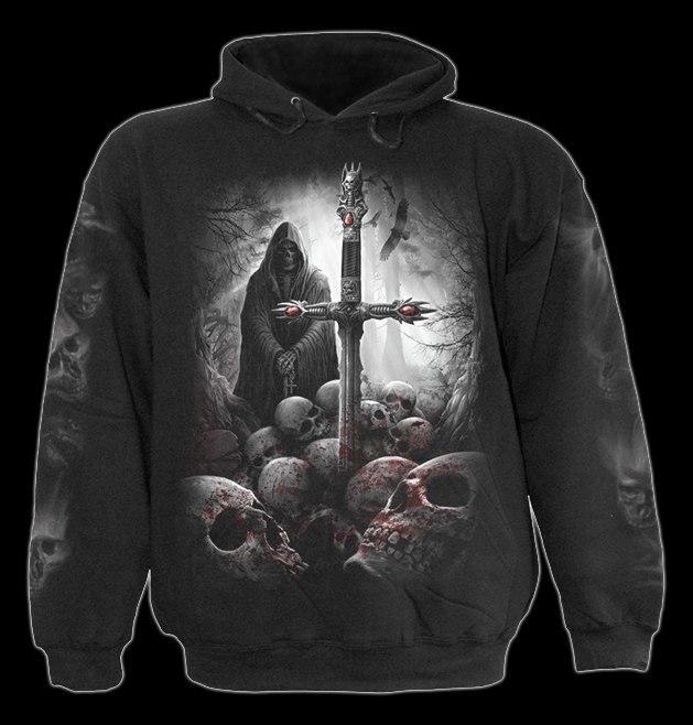 Spiral Soul Searcher Hoody Black|Reaper|Cross|Souls