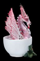 Dragon Figurine - Perfectly Peppermint