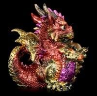 Drachen Figur - Ruby Dragonling