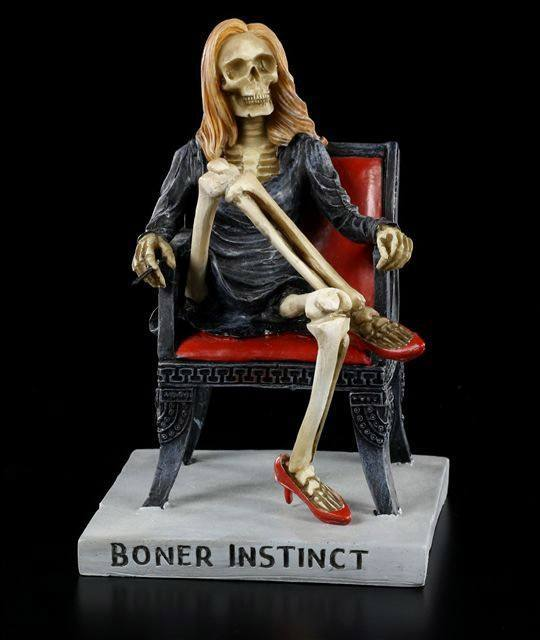 Skelett Figur - Boner Instinct