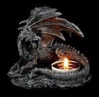 Tealight Holder Dragon - Set of 2